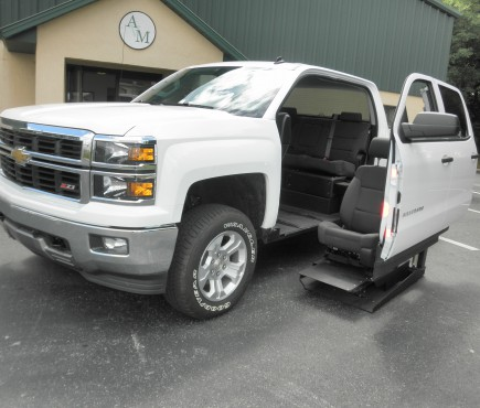 2014 Chevy Silverado 1500 With SVM Conversion